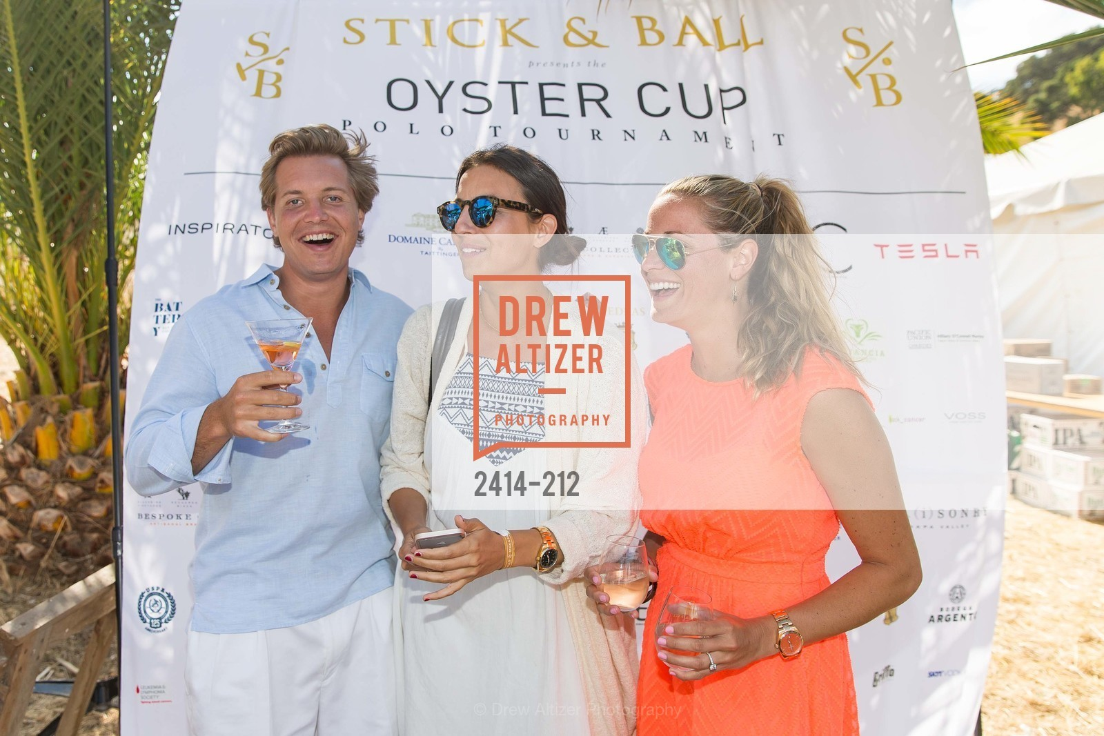 David McDonough, Reny Prusker, Katie Wolf, Stick & Ball Oyster Cup Polo Tournament, Cerro Pampa Polo Club, July 25th, 2015