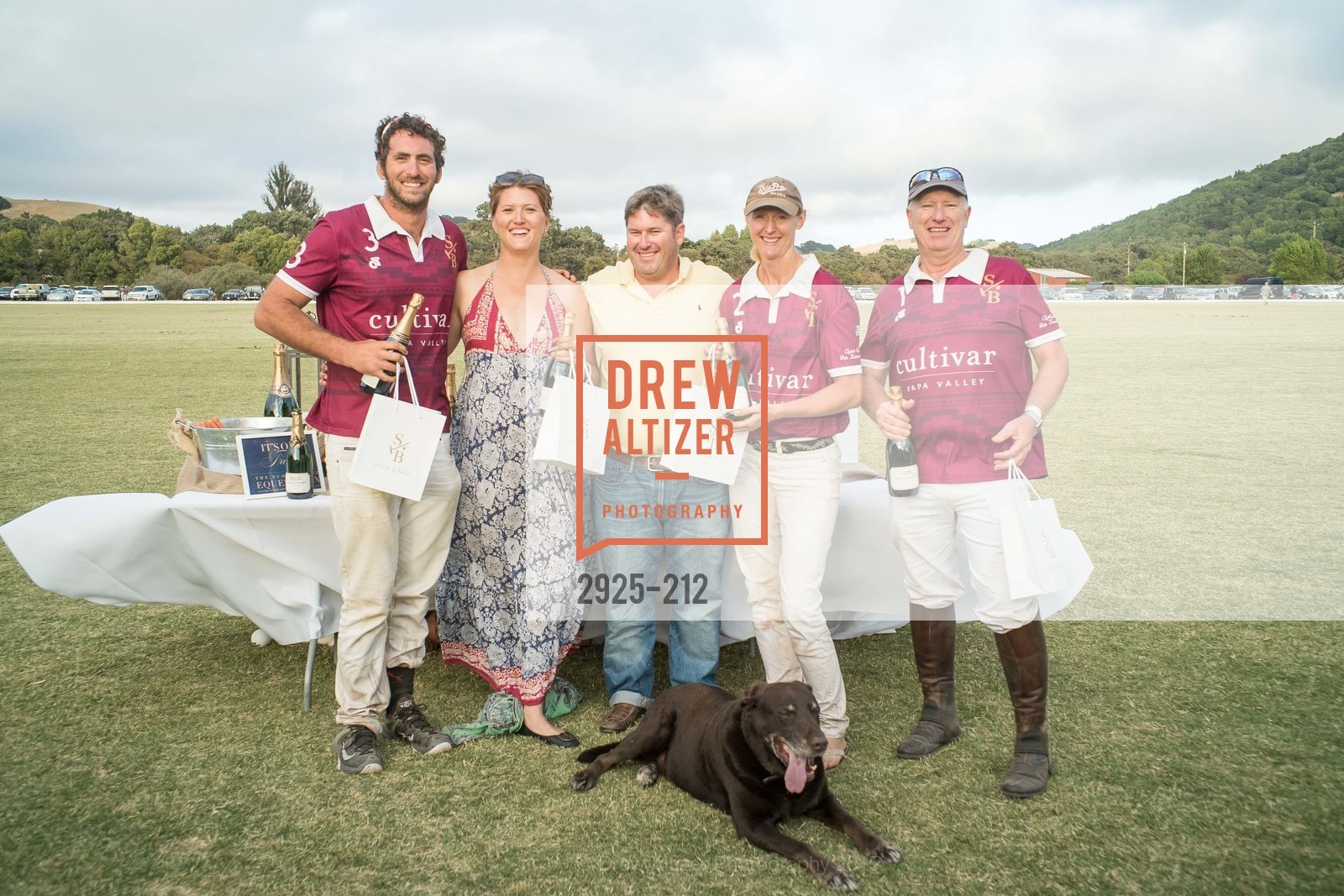 Jess Scheraga, Margo Buchanan, Jody Harris, Heather Lake, Richard Biley, Stick & Ball Oyster Cup Polo Tournament, Cerro Pampa Polo Club, July 25th, 2015,Drew Altizer, Drew Altizer Photography, full-service agency, private events, San Francisco photographer, photographer california