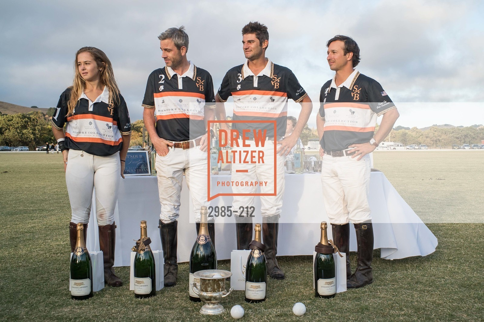 Fiona Bach, Jonathan Haswell, Ignacio Deltour, John Bickford, Stick & Ball Oyster Cup Polo Tournament, Cerro Pampa Polo Club, July 25th, 2015,Drew Altizer, Drew Altizer Photography, full-service event agency, private events, San Francisco photographer, photographer California