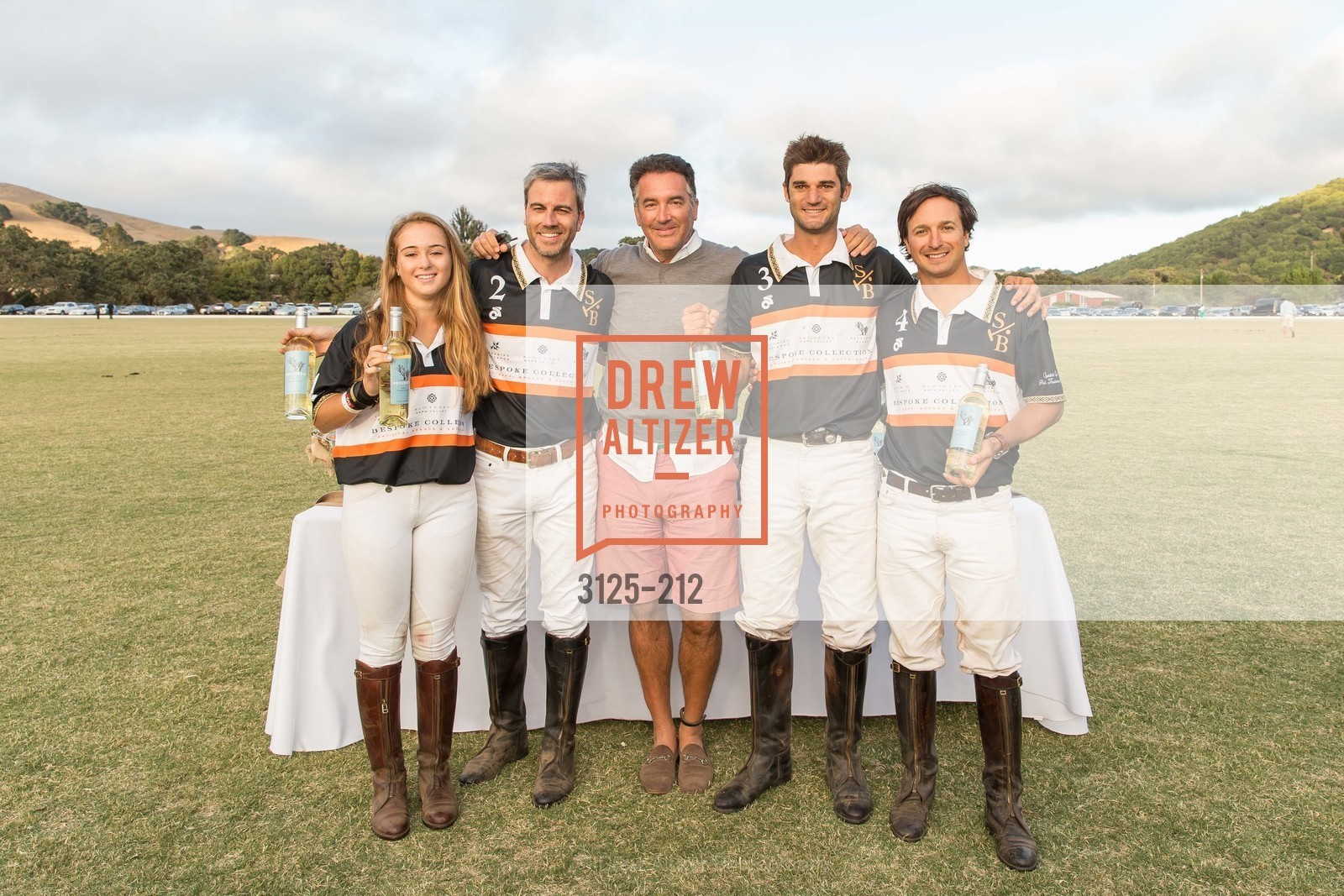 Fiona Bach, Jonathan Haswell, Michael Polenske, Ignacio Deltour, John Bickford, Stick & Ball Oyster Cup Polo Tournament, Cerro Pampa Polo Club, July 25th, 2015,Drew Altizer, Drew Altizer Photography, full-service agency, private events, San Francisco photographer, photographer california
