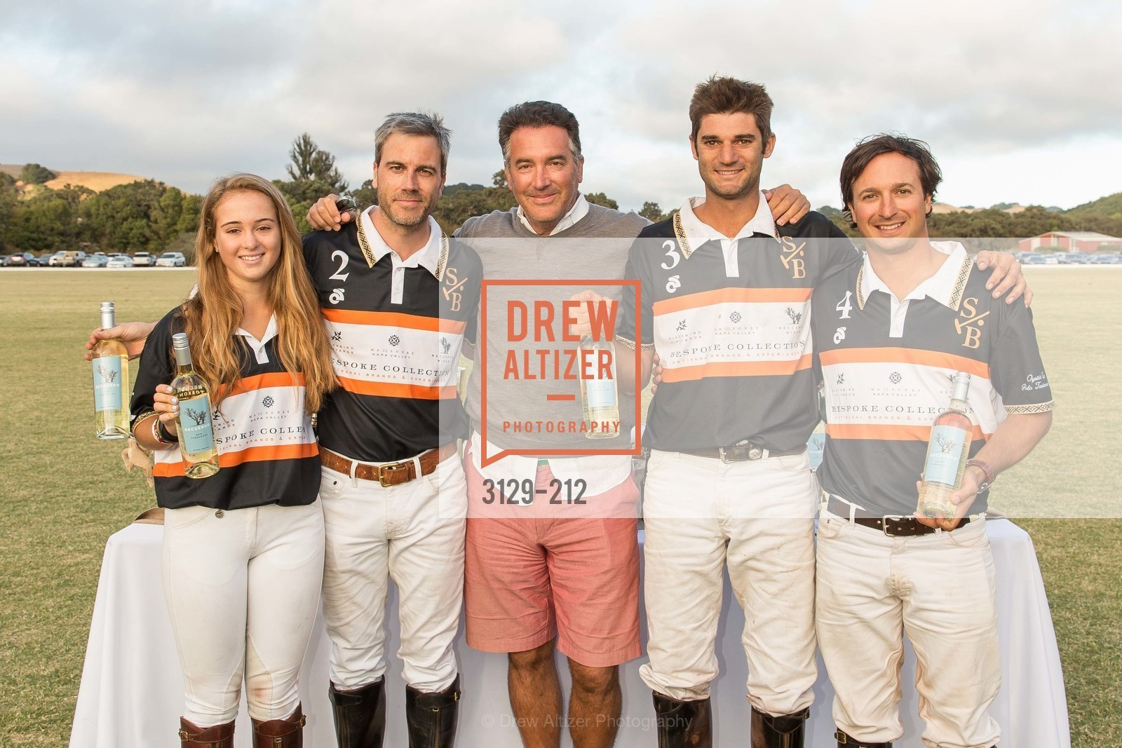 Fiona Bach, Jonathan Haswell, Michael Polenske, Ignacio Deltour, John Bickford, Stick & Ball Oyster Cup Polo Tournament, Cerro Pampa Polo Club, July 25th, 2015,Drew Altizer, Drew Altizer Photography, full-service event agency, private events, San Francisco photographer, photographer California