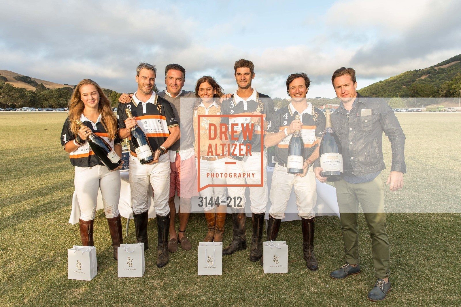 Fiona Bach, Jonathan Haswell, Michael Polenske, Elizabeth Welborn, Ignacio Deltour, John Bickford, Benjamin Rotnicki, Stick & Ball Oyster Cup Polo Tournament, Cerro Pampa Polo Club, July 25th, 2015,Drew Altizer, Drew Altizer Photography, full-service event agency, private events, San Francisco photographer, photographer California