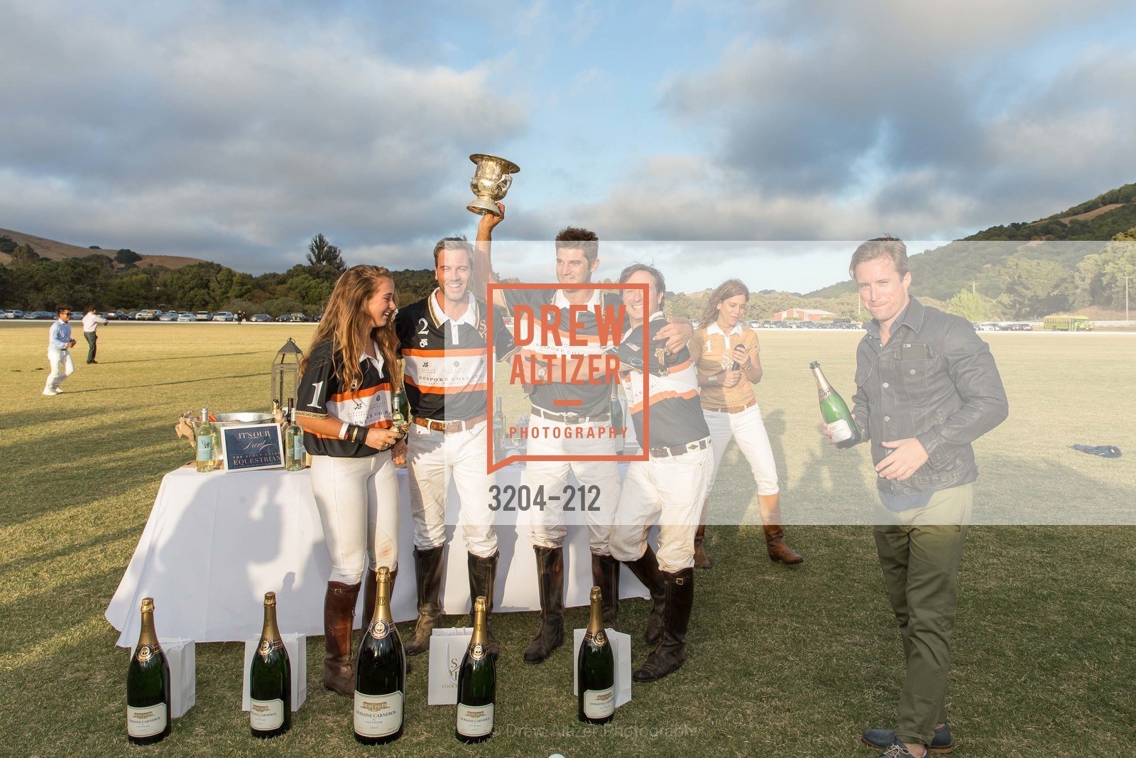 Fiona Bach, Jonathan Haswell, Ignacio Deltour, John Bickford, Benjamin Rotnicki, Stick & Ball Oyster Cup Polo Tournament, Cerro Pampa Polo Club, July 25th, 2015,Drew Altizer, Drew Altizer Photography, full-service agency, private events, San Francisco photographer, photographer california