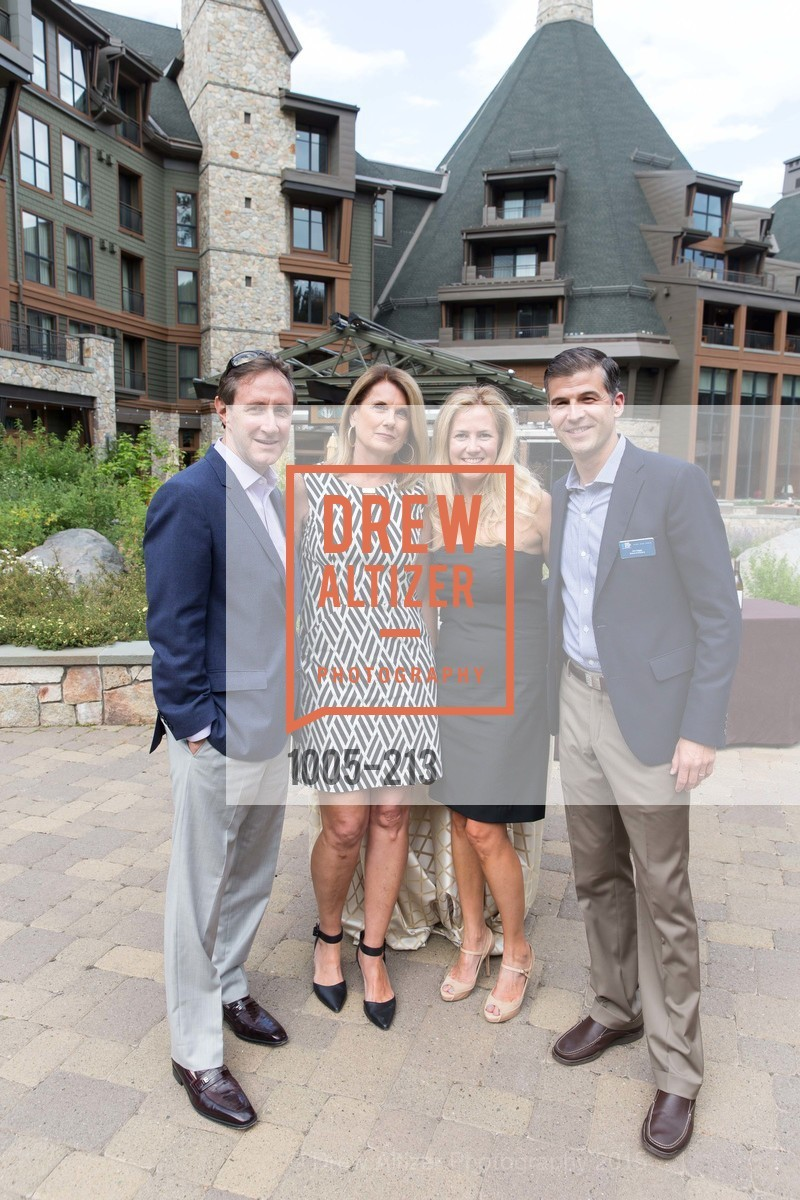 Jeff Brown, Kate Brown, Kelly Daggs, Ash Daggs, League to Save Lake Tahoe Sponsor Cocktail Party, Ritz-Carlton, Lake Tahoe, July 31st, 2015,Drew Altizer, Drew Altizer Photography, full-service agency, private events, San Francisco photographer, photographer california