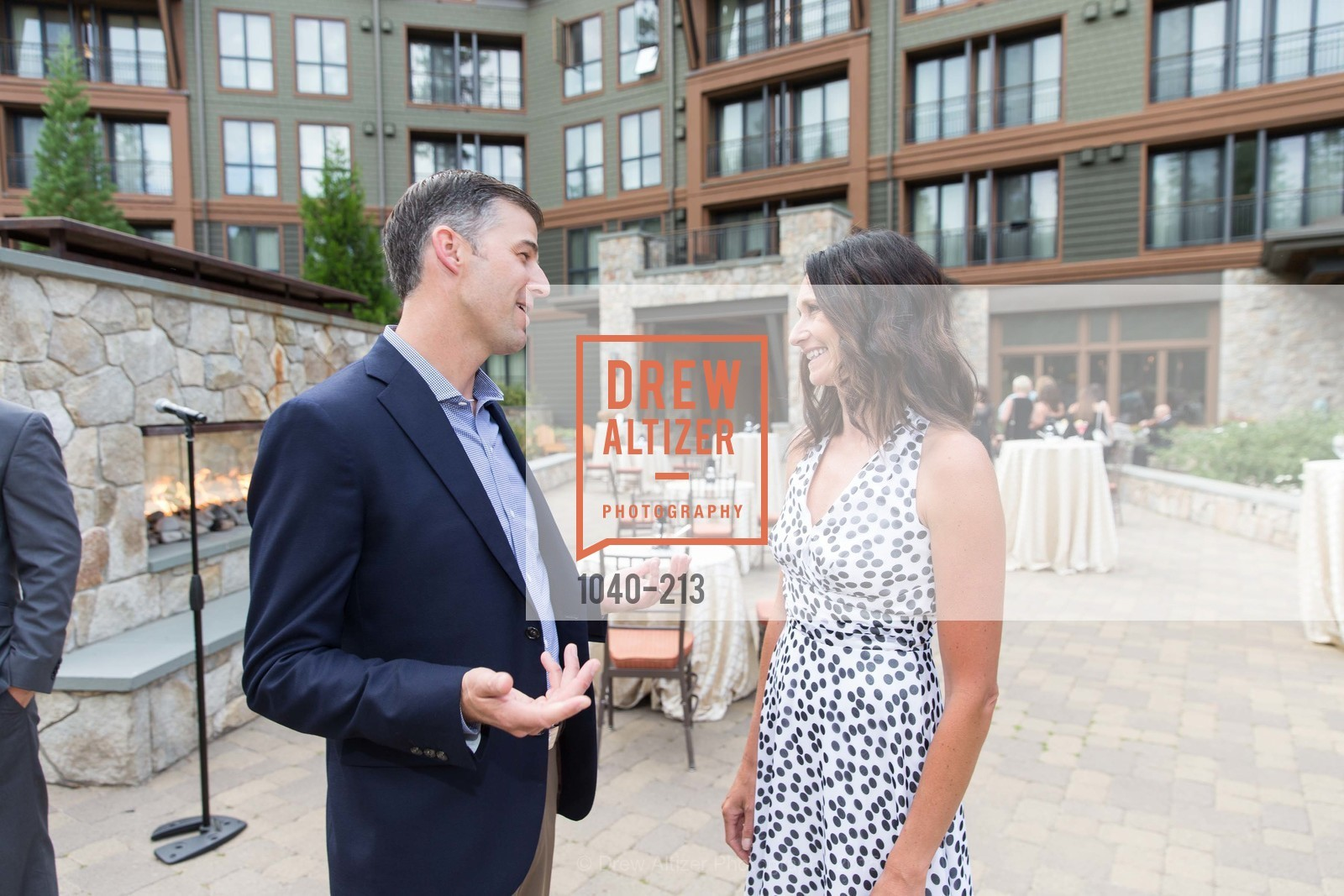 Ash Daggs, Darcie Collins, League to Save Lake Tahoe Sponsor Cocktail Party, Ritz-Carlton, Lake Tahoe, July 31st, 2015,Drew Altizer, Drew Altizer Photography, full-service event agency, private events, San Francisco photographer, photographer California