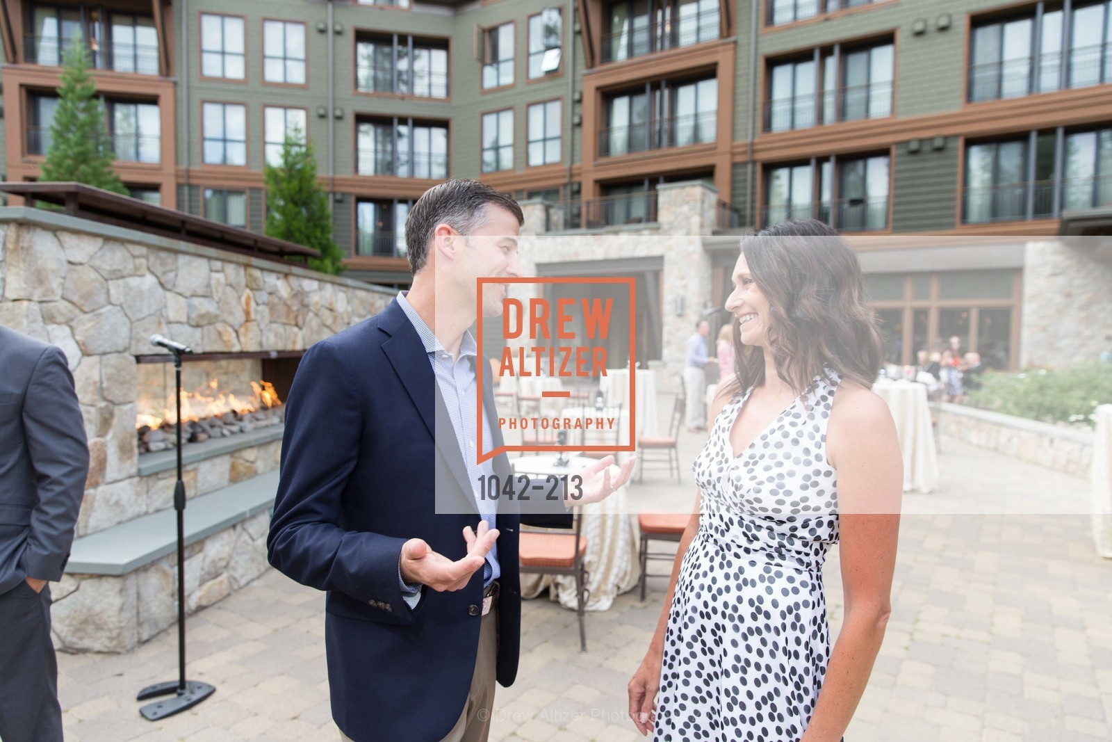 Ash Daggs, Darcie Collins, League to Save Lake Tahoe Sponsor Cocktail Party, Ritz-Carlton, Lake Tahoe, July 31st, 2015,Drew Altizer, Drew Altizer Photography, full-service agency, private events, San Francisco photographer, photographer california