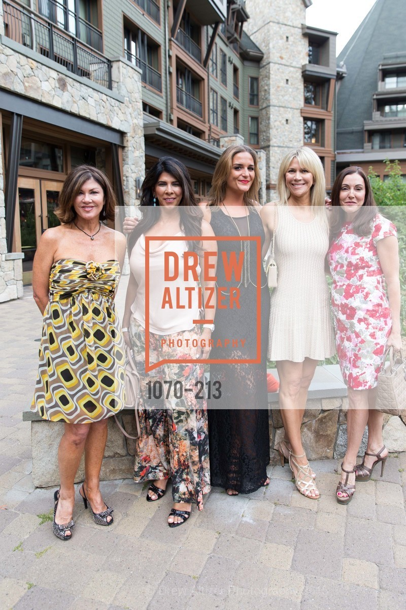 Dianne Yancey, Sujata Pherwani, Pauline Lordez, Kimberly Sharp, Marybeth Lamotte, League to Save Lake Tahoe Sponsor Cocktail Party, Ritz-Carlton, Lake Tahoe, July 31st, 2015,Drew Altizer, Drew Altizer Photography, full-service agency, private events, San Francisco photographer, photographer california