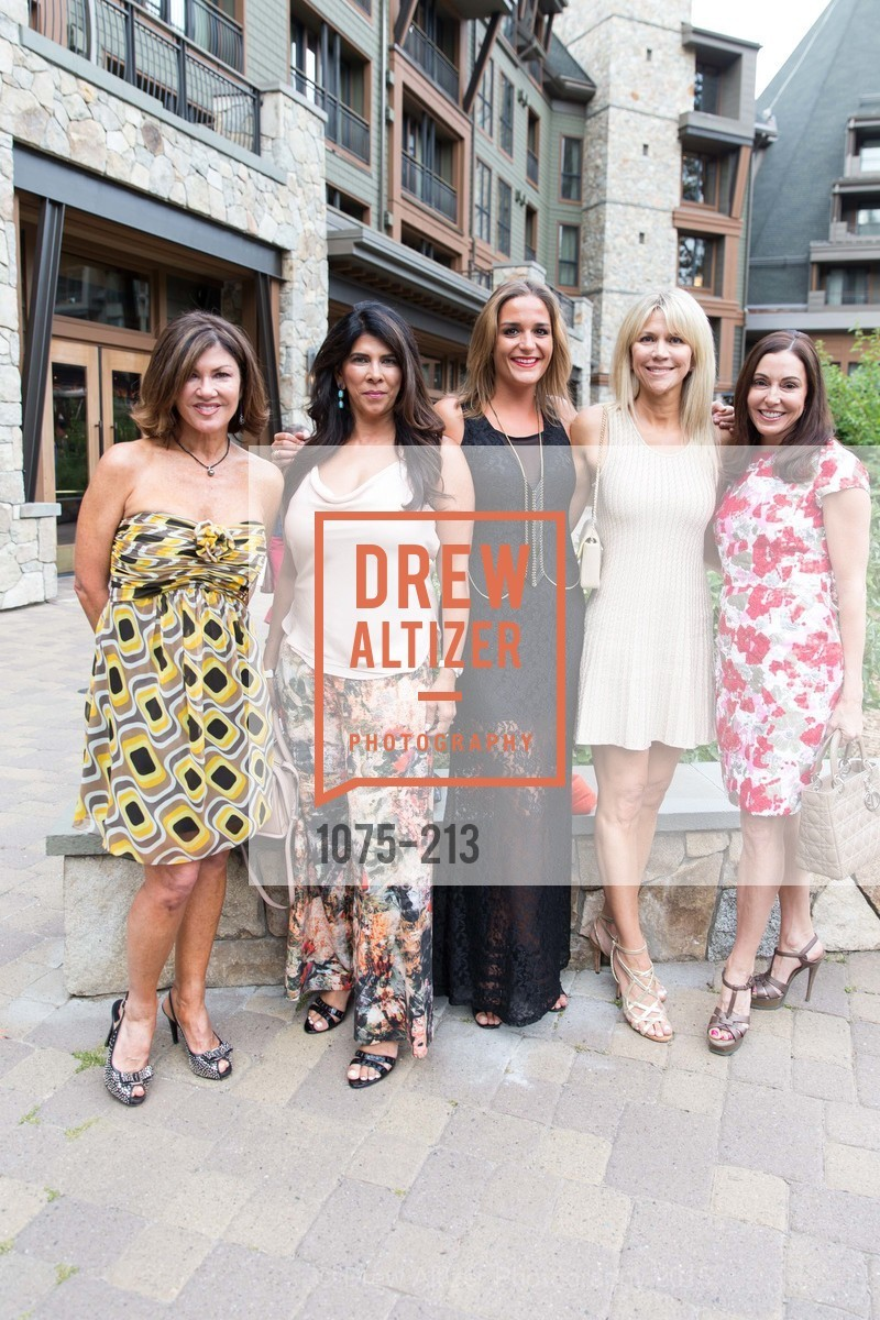 Dianne Yancey, Sujata Pherwani, Pauline Lordez, Kimberly Sharp, Marybeth Lamotte, League to Save Lake Tahoe Sponsor Cocktail Party, Ritz-Carlton, Lake Tahoe, July 31st, 2015,Drew Altizer, Drew Altizer Photography, full-service event agency, private events, San Francisco photographer, photographer California