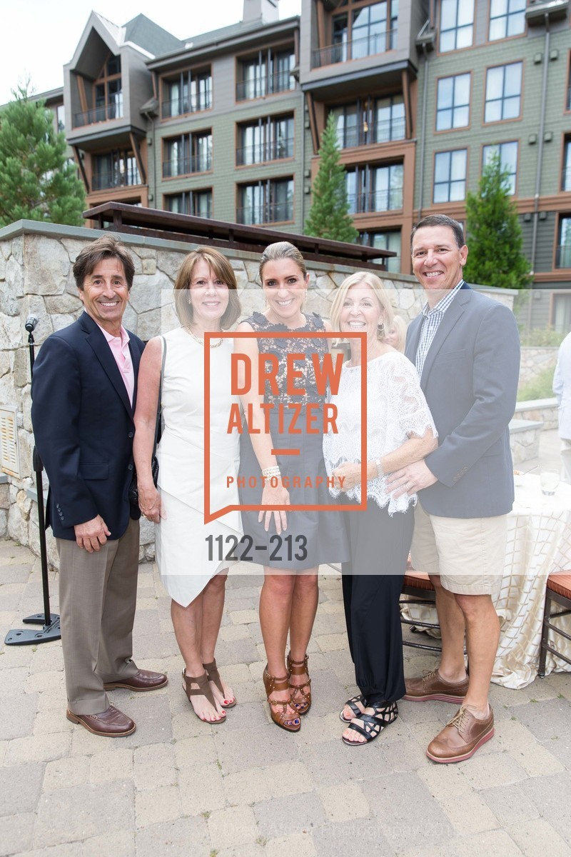 Bob Damaschino, Nancy Damaschino, Jessica Hickingbotham, Willa Bunting, Glenn Bunting, League to Save Lake Tahoe Sponsor Cocktail Party, Ritz-Carlton, Lake Tahoe, July 31st, 2015,Drew Altizer, Drew Altizer Photography, full-service agency, private events, San Francisco photographer, photographer california