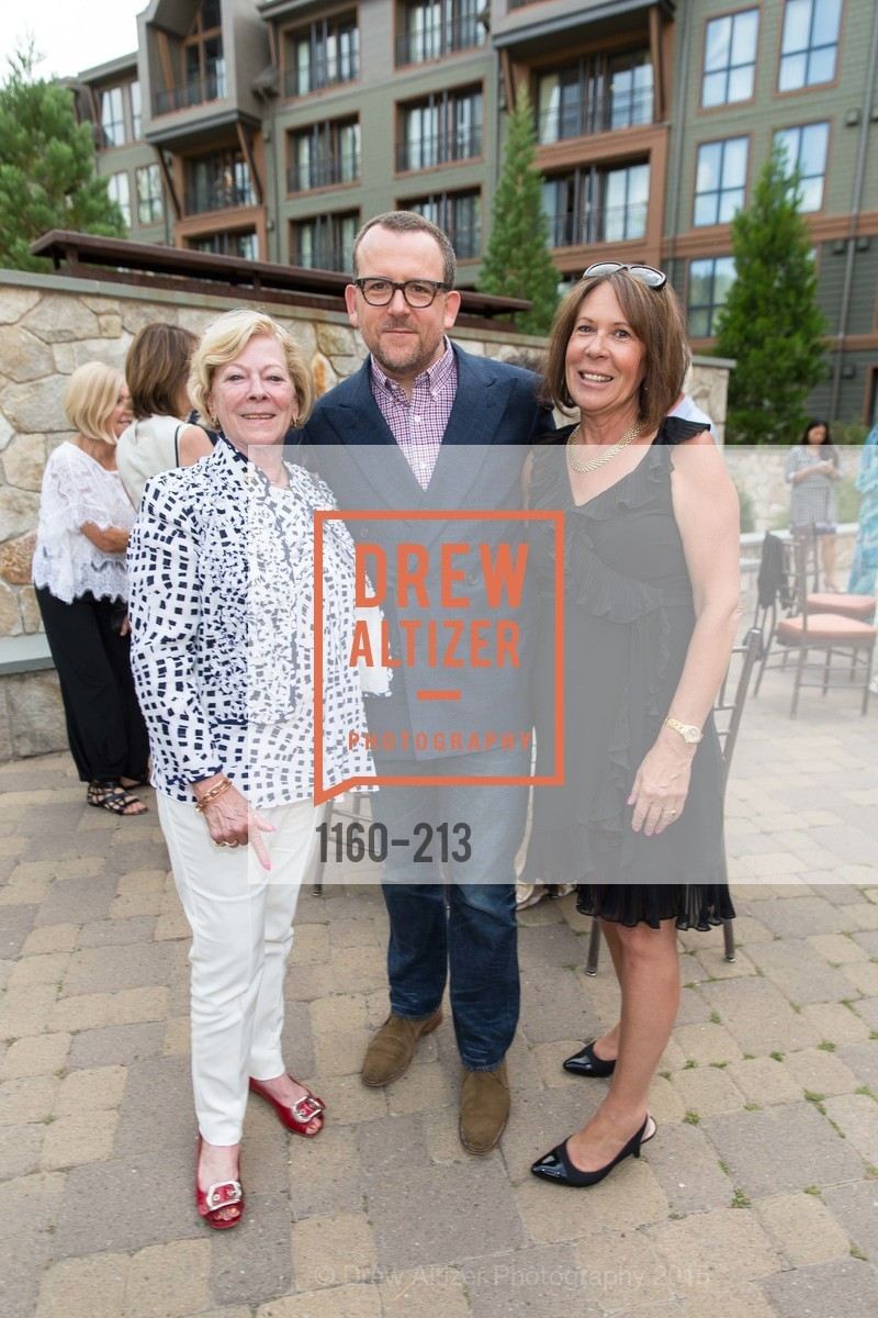 Carol Hickingbotham, Andrew McVinish, Shirley Burror, League to Save Lake Tahoe Sponsor Cocktail Party, Ritz-Carlton, Lake Tahoe, July 31st, 2015,Drew Altizer, Drew Altizer Photography, full-service agency, private events, San Francisco photographer, photographer california