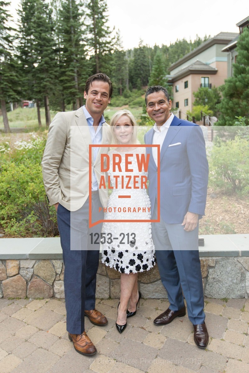 Daniel Paltridge, Barbara Brown, Daniel Diaz, League to Save Lake Tahoe Sponsor Cocktail Party, Ritz-Carlton, Lake Tahoe, July 31st, 2015,Drew Altizer, Drew Altizer Photography, full-service agency, private events, San Francisco photographer, photographer california