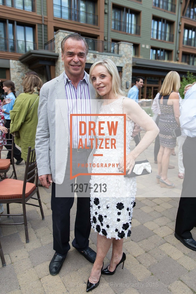 Boaz Mazor, Barbara Brown, League to Save Lake Tahoe Sponsor Cocktail Party, Ritz-Carlton, Lake Tahoe, July 31st, 2015,Drew Altizer, Drew Altizer Photography, full-service agency, private events, San Francisco photographer, photographer california