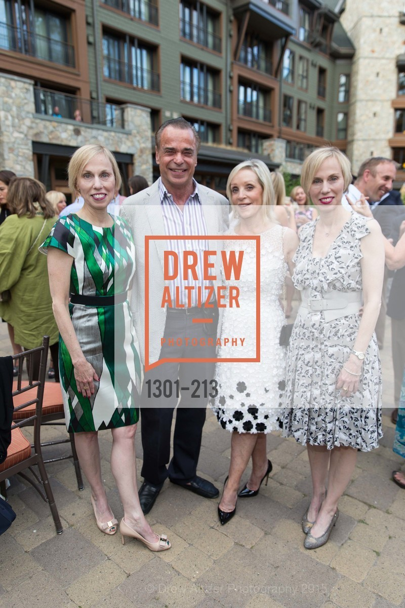 Christy Dillon, Boaz Mazor, Barbara Brown, Jamie Dillon, League to Save Lake Tahoe Sponsor Cocktail Party, Ritz-Carlton, Lake Tahoe, July 31st, 2015,Drew Altizer, Drew Altizer Photography, full-service agency, private events, San Francisco photographer, photographer california