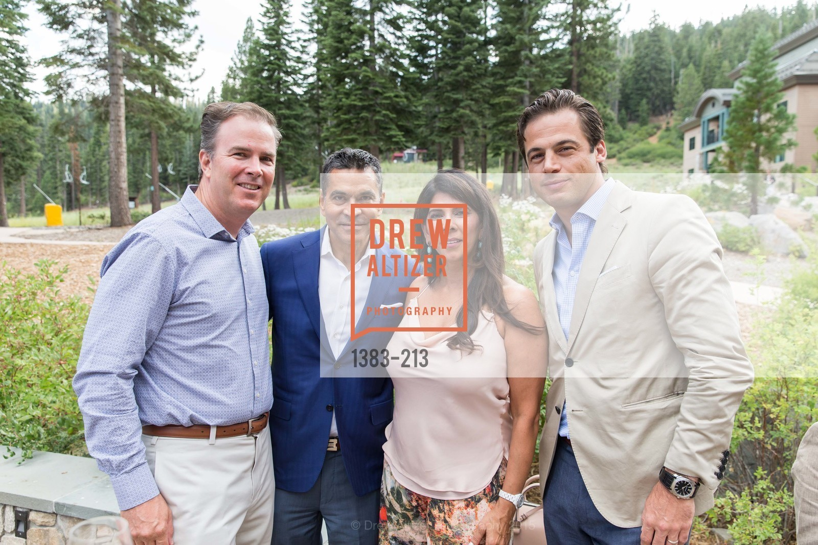 Paul Leary, Daniel Diaz, Sujata Pherwani, Daniel Paltridge, League to Save Lake Tahoe Sponsor Cocktail Party, Ritz-Carlton, Lake Tahoe, July 31st, 2015,Drew Altizer, Drew Altizer Photography, full-service agency, private events, San Francisco photographer, photographer california
