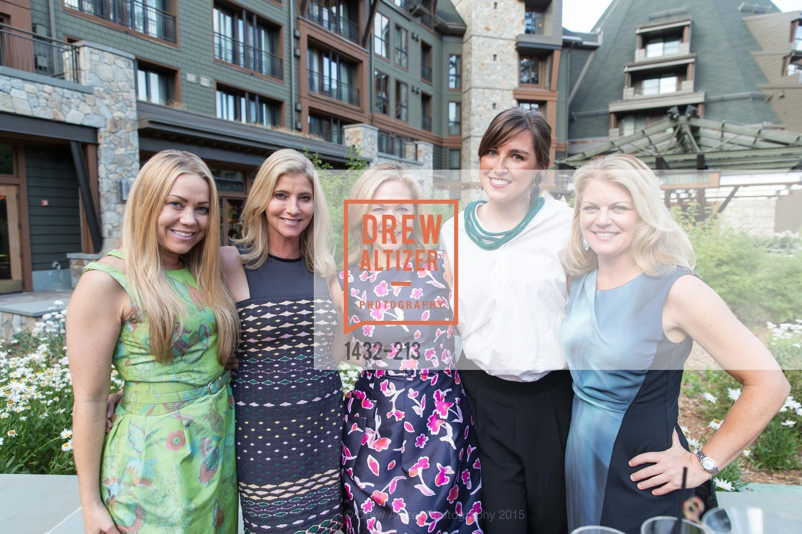 Heidi Bertagnolli, Jeanine Rogers, Darayn Hickingbotham, Justine Macfee, Tammy Pioch, League to Save Lake Tahoe Sponsor Cocktail Party, Ritz-Carlton, Lake Tahoe, July 31st, 2015,Drew Altizer, Drew Altizer Photography, full-service agency, private events, San Francisco photographer, photographer california