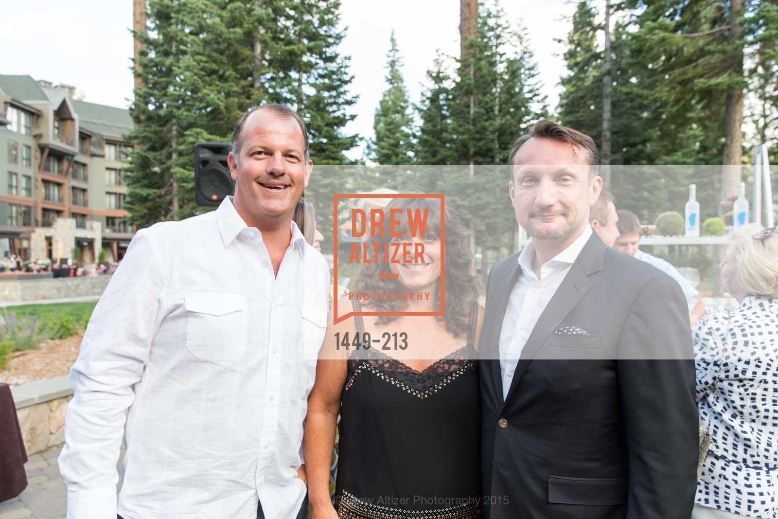 David Brandenburger, Kristen Keane, Giles Marsden, League to Save Lake Tahoe Sponsor Cocktail Party, Ritz-Carlton, Lake Tahoe, July 31st, 2015,Drew Altizer, Drew Altizer Photography, full-service agency, private events, San Francisco photographer, photographer california