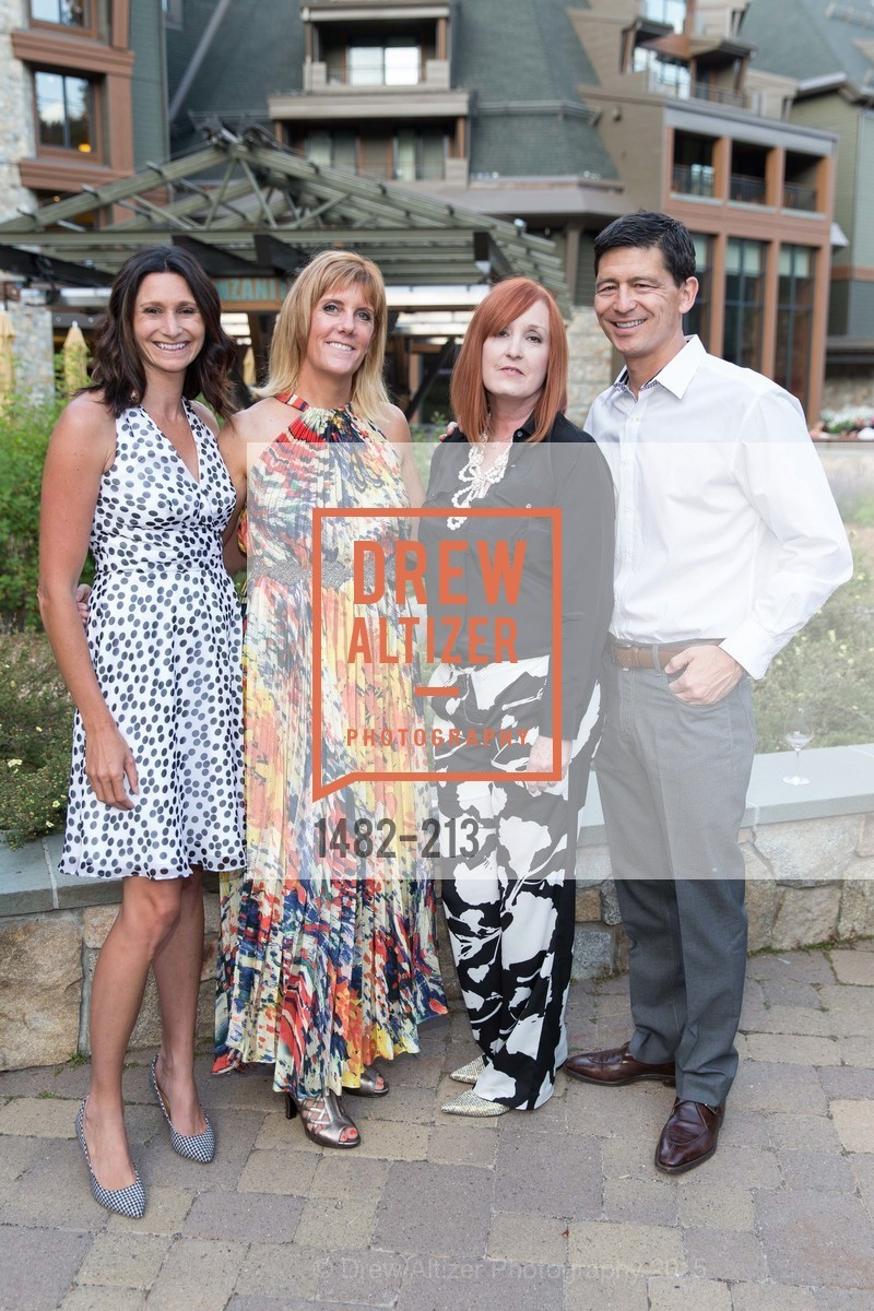 Darcie Collins, Allison Willoughby, Rosalind San Felipe, Todd Arris, League to Save Lake Tahoe Sponsor Cocktail Party, Ritz-Carlton, Lake Tahoe, July 31st, 2015,Drew Altizer, Drew Altizer Photography, full-service agency, private events, San Francisco photographer, photographer california