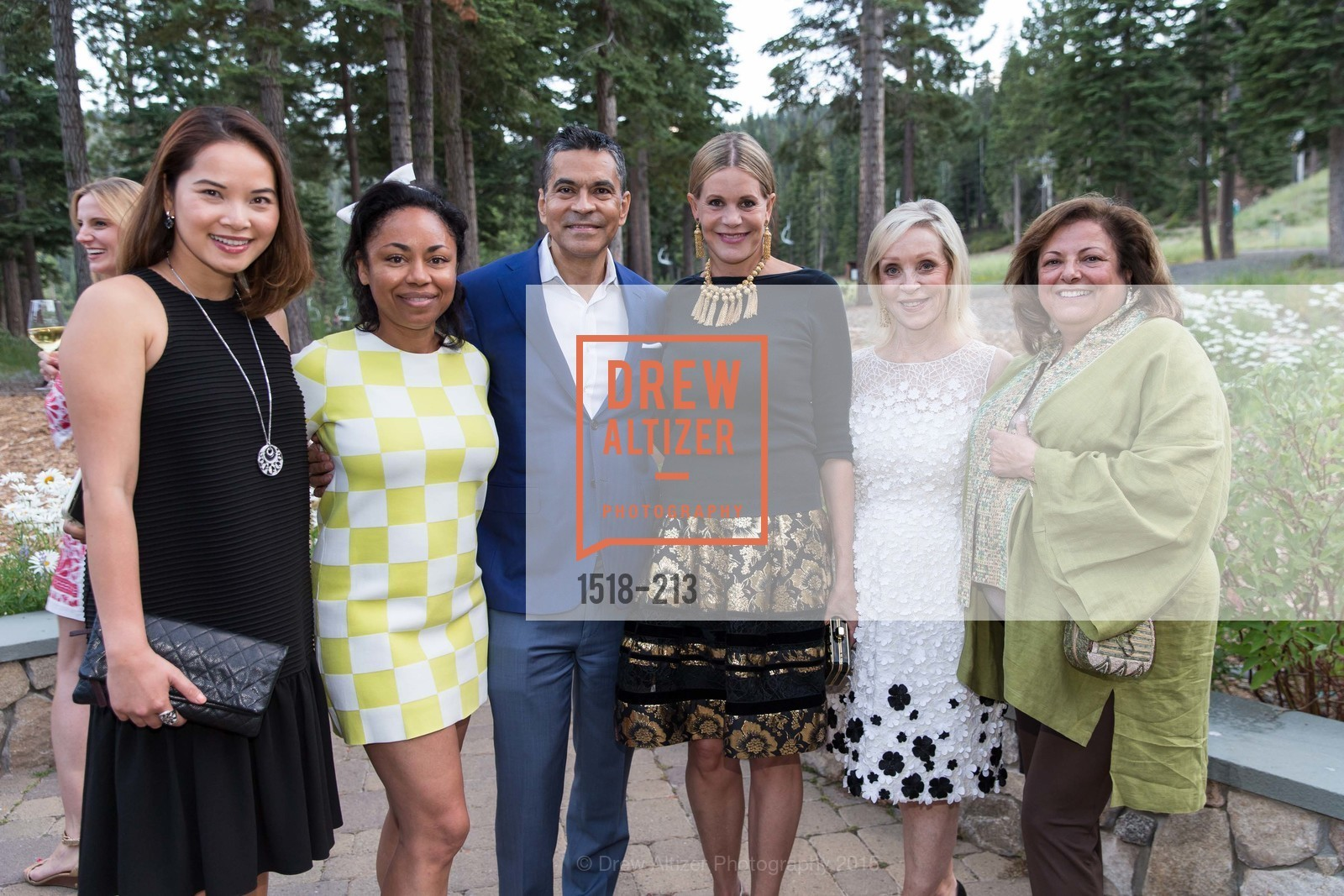 Dien Nguyen, Tanya Powell, Daniel Diaz, Mary Beth Shimmon, Barbara Brown, League to Save Lake Tahoe Sponsor Cocktail Party, Ritz-Carlton, Lake Tahoe, July 31st, 2015,Drew Altizer, Drew Altizer Photography, full-service agency, private events, San Francisco photographer, photographer california
