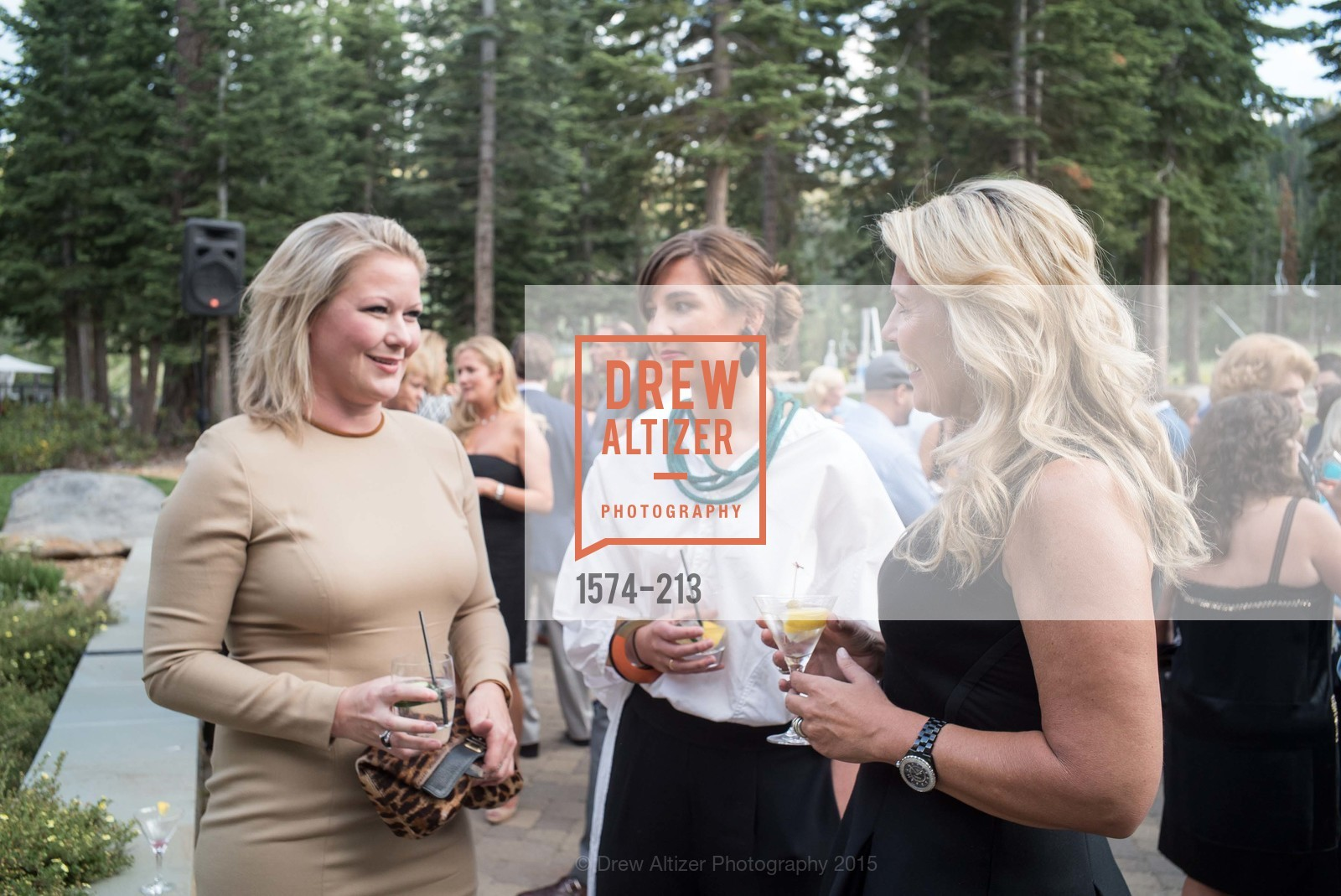 Liz Curtis, Justine Macfee, League to Save Lake Tahoe Sponsor Cocktail Party, Ritz-Carlton, Lake Tahoe, July 31st, 2015,Drew Altizer, Drew Altizer Photography, full-service agency, private events, San Francisco photographer, photographer california