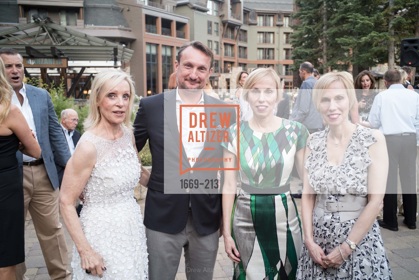 Barbara Brown, Giles Marsden, Christy Dillon, Jamie Dillon, League to Save Lake Tahoe Sponsor Cocktail Party, Ritz-Carlton, Lake Tahoe, July 31st, 2015,Drew Altizer, Drew Altizer Photography, full-service agency, private events, San Francisco photographer, photographer california