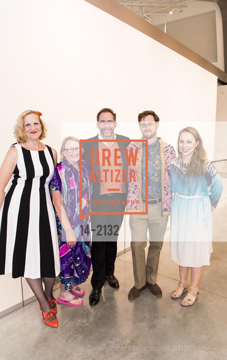 Ann Wiens, Julia White, Larry Rinder, Colter Jacobsen, Apsara DiQuinzio, Photo #14-2132