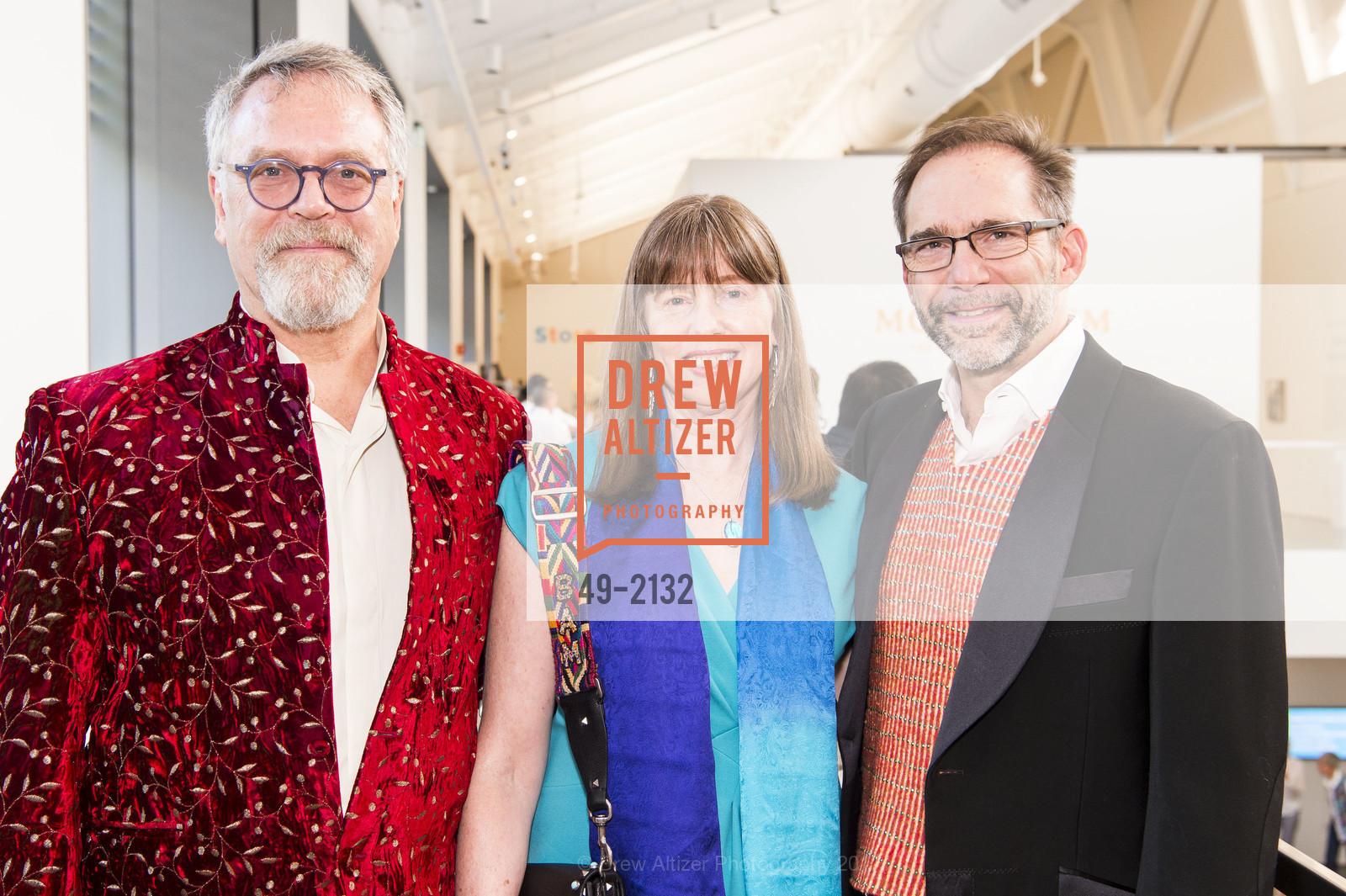 Nion McEvoy, Leslie Berriman, Larry Rinder, Photo #49-2132