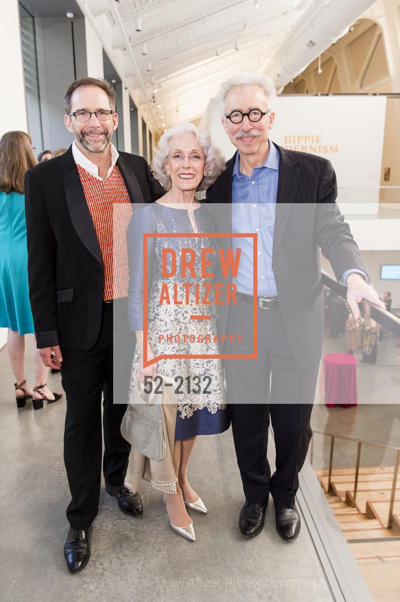 Larry Rinder, Sharon Simpson, Nicholas Dirks, Photo #52-2132