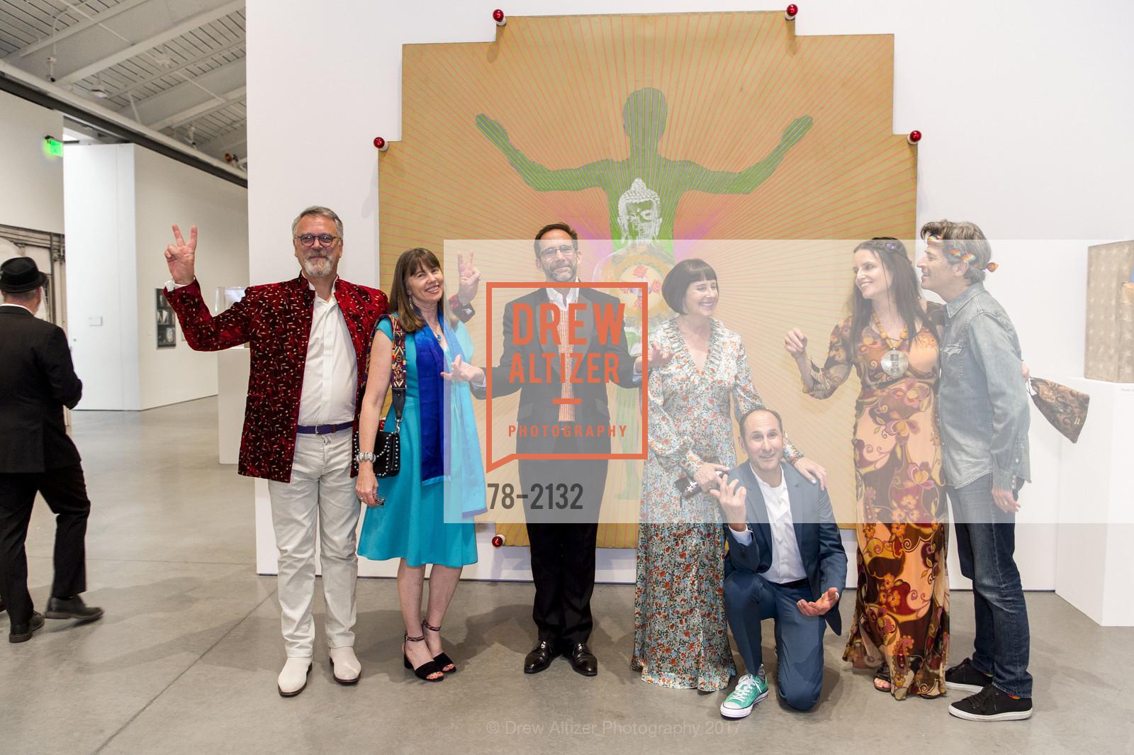 Nion McEvoy, Leslie Berriman, Larry Rinder, Carla Emil, Rich Silverstein, Carla Crane, David Crane, Photo #78-2132