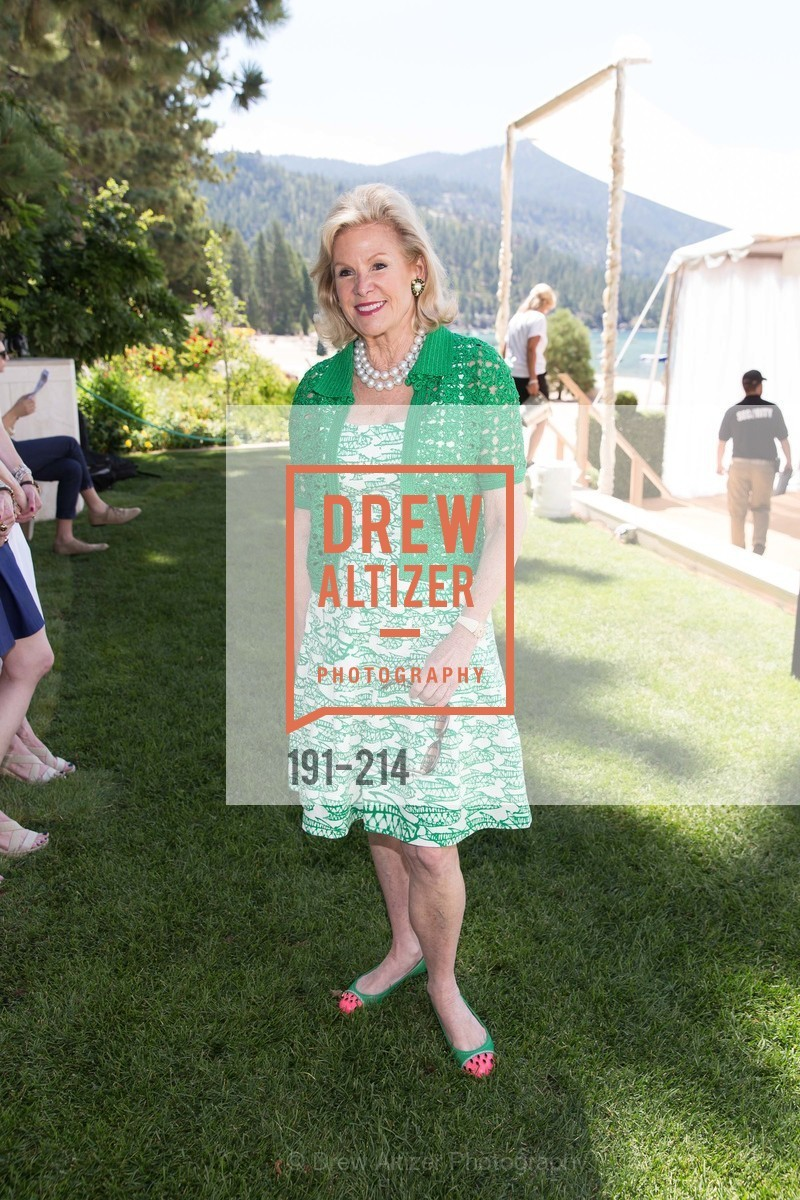Dede Wilsey, Saks Fifth Avenue and The League to Save Lake Tahoe Present Fashion on the Lake, Private Residence, August 1st, 2015