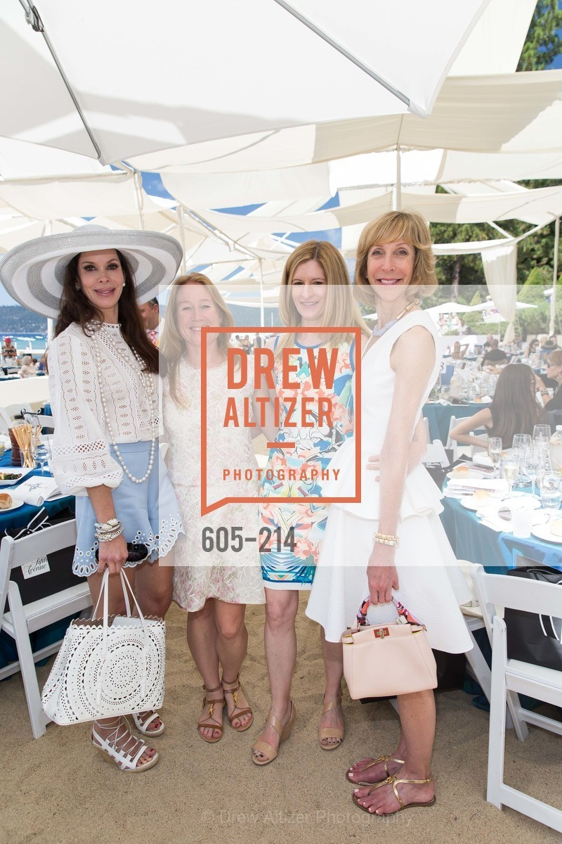 Stephanie Marver, Heather Preston, April Isaacson, Nancy Kukacka, Saks Fifth Avenue and The League to Save Lake Tahoe Present Fashion on the Lake, Private Residence, August 1st, 2015,Drew Altizer, Drew Altizer Photography, full-service agency, private events, San Francisco photographer, photographer california
