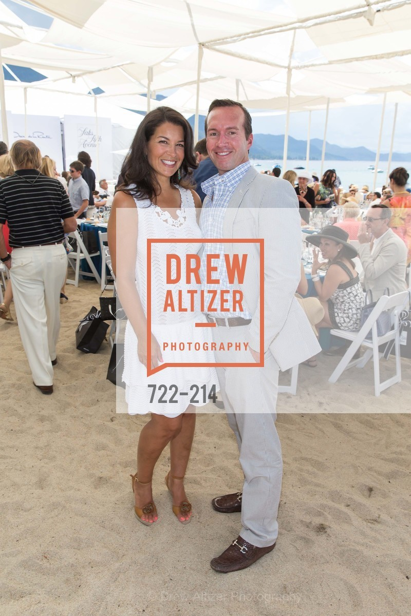 Kristen O'Donnell, Keith O'Donnell, Saks Fifth Avenue and The League to Save Lake Tahoe Present Fashion on the Lake, Private Residence, August 1st, 2015