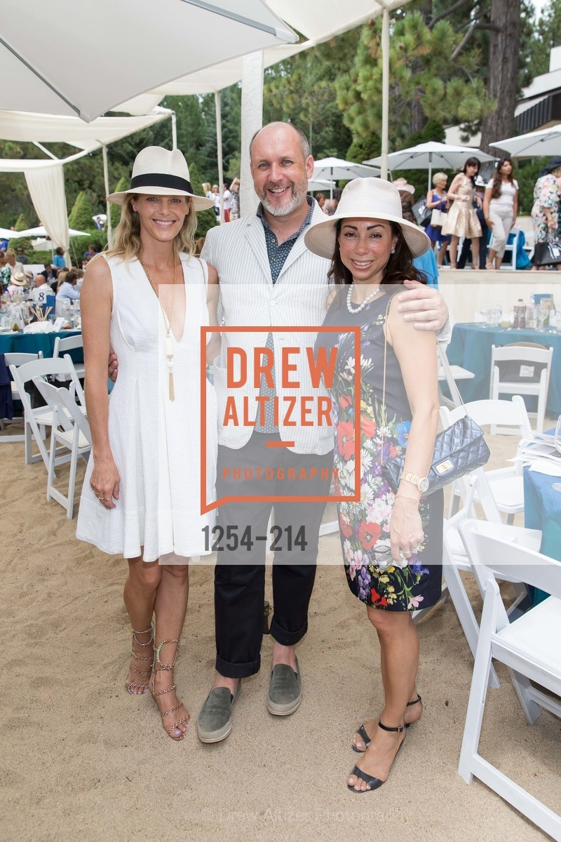 Katie Traina, Peter Copping, Gina Peterson, Saks Fifth Avenue and The League to Save Lake Tahoe Present Fashion on the Lake, Private Residence, August 1st, 2015