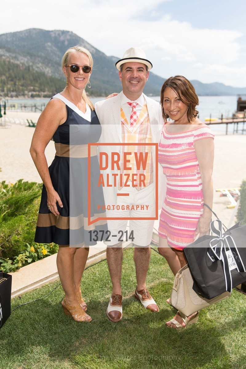 Deborah Keane, Robert Arnold-Kraft, Cathy Goodman, Saks Fifth Avenue and The League to Save Lake Tahoe Present Fashion on the Lake, Private Residence, August 1st, 2015,Drew Altizer, Drew Altizer Photography, full-service agency, private events, San Francisco photographer, photographer california