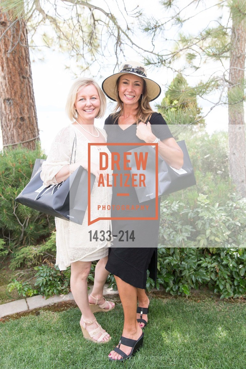 Stephanie VanDyke, Karen Wirth, Saks Fifth Avenue and The League to Save Lake Tahoe Present Fashion on the Lake, Private Residence, August 1st, 2015