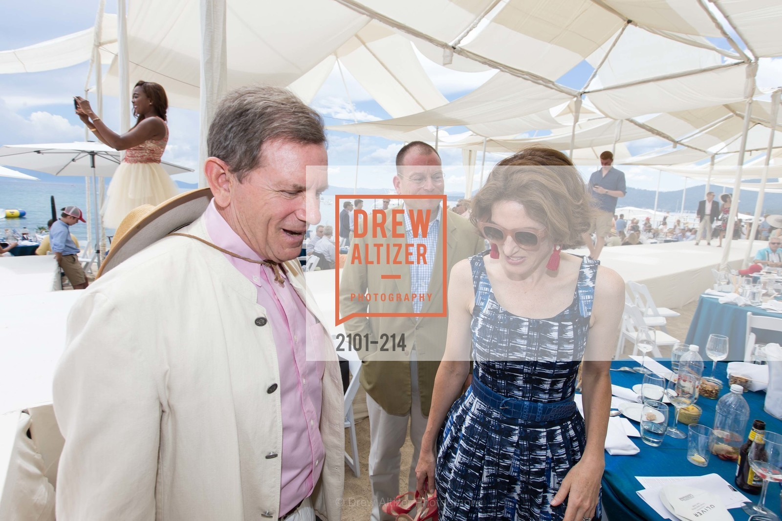 Joe Tobin, Eliza Bolen, Saks Fifth Avenue and The League to Save Lake Tahoe Present Fashion on the Lake, Private Residence, August 1st, 2015,Drew Altizer, Drew Altizer Photography, full-service agency, private events, San Francisco photographer, photographer california