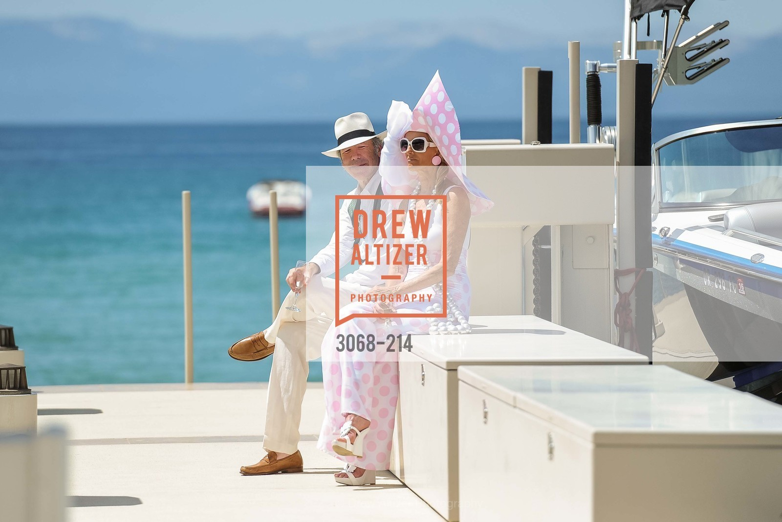 Tom Barrett, Belinda Berry, Saks Fifth Avenue and The League to Save Lake Tahoe Present Fashion on the Lake, Private Residence, August 1st, 2015,Drew Altizer, Drew Altizer Photography, full-service event agency, private events, San Francisco photographer, photographer California
