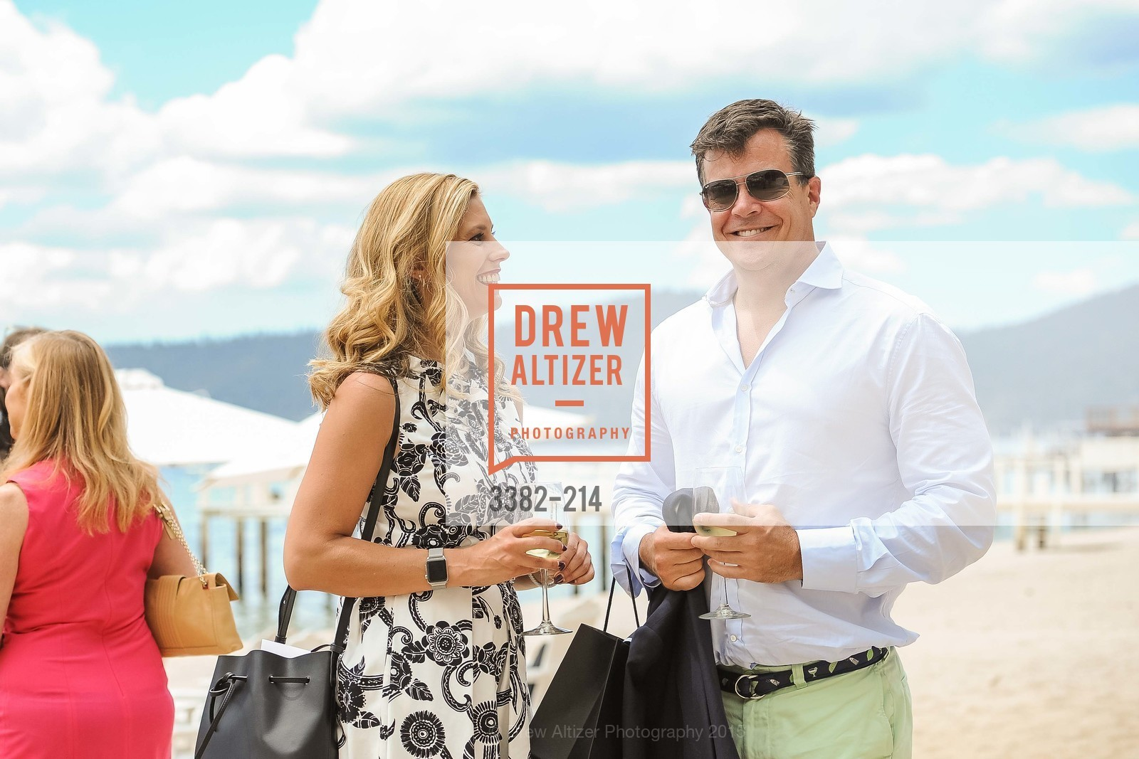 Johnna Marcus, Jack Schafer, Saks Fifth Avenue and The League to Save Lake Tahoe Present Fashion on the Lake, Private Residence, August 1st, 2015,Drew Altizer, Drew Altizer Photography, full-service agency, private events, San Francisco photographer, photographer california