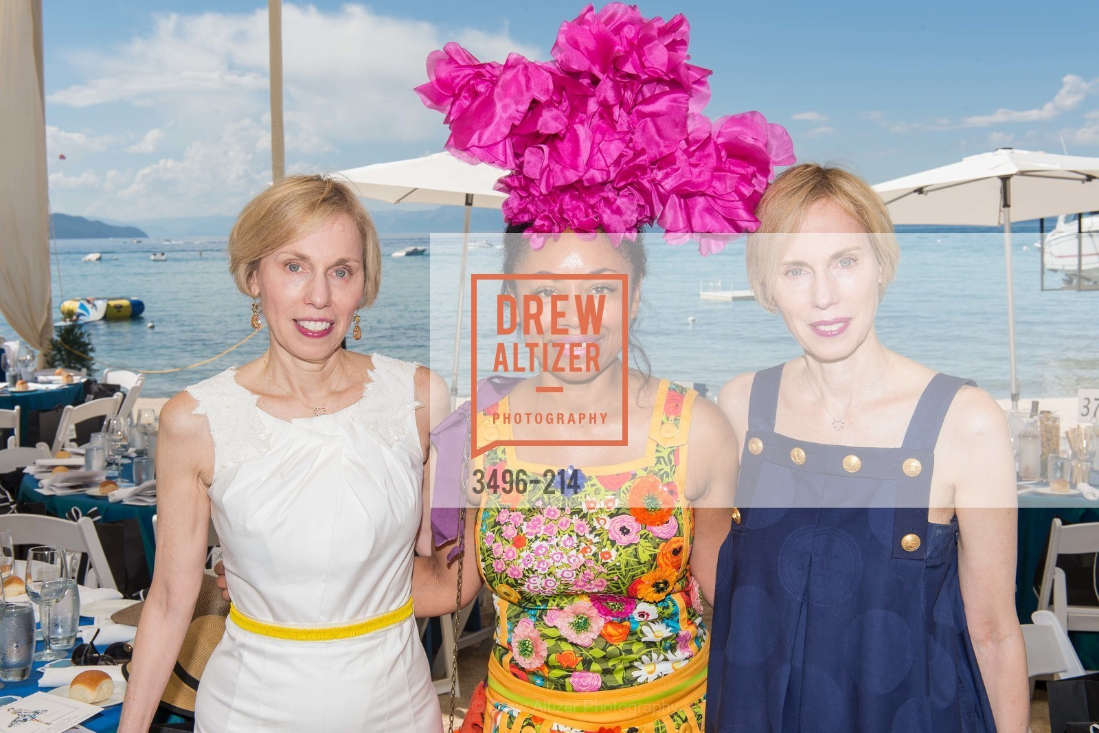 Jamie Dillon, Tanya Powell, Christy Dillon, Saks Fifth Avenue and The League to Save Lake Tahoe Present Fashion on the Lake, Private Residence, August 1st, 2015,Drew Altizer, Drew Altizer Photography, full-service agency, private events, San Francisco photographer, photographer california