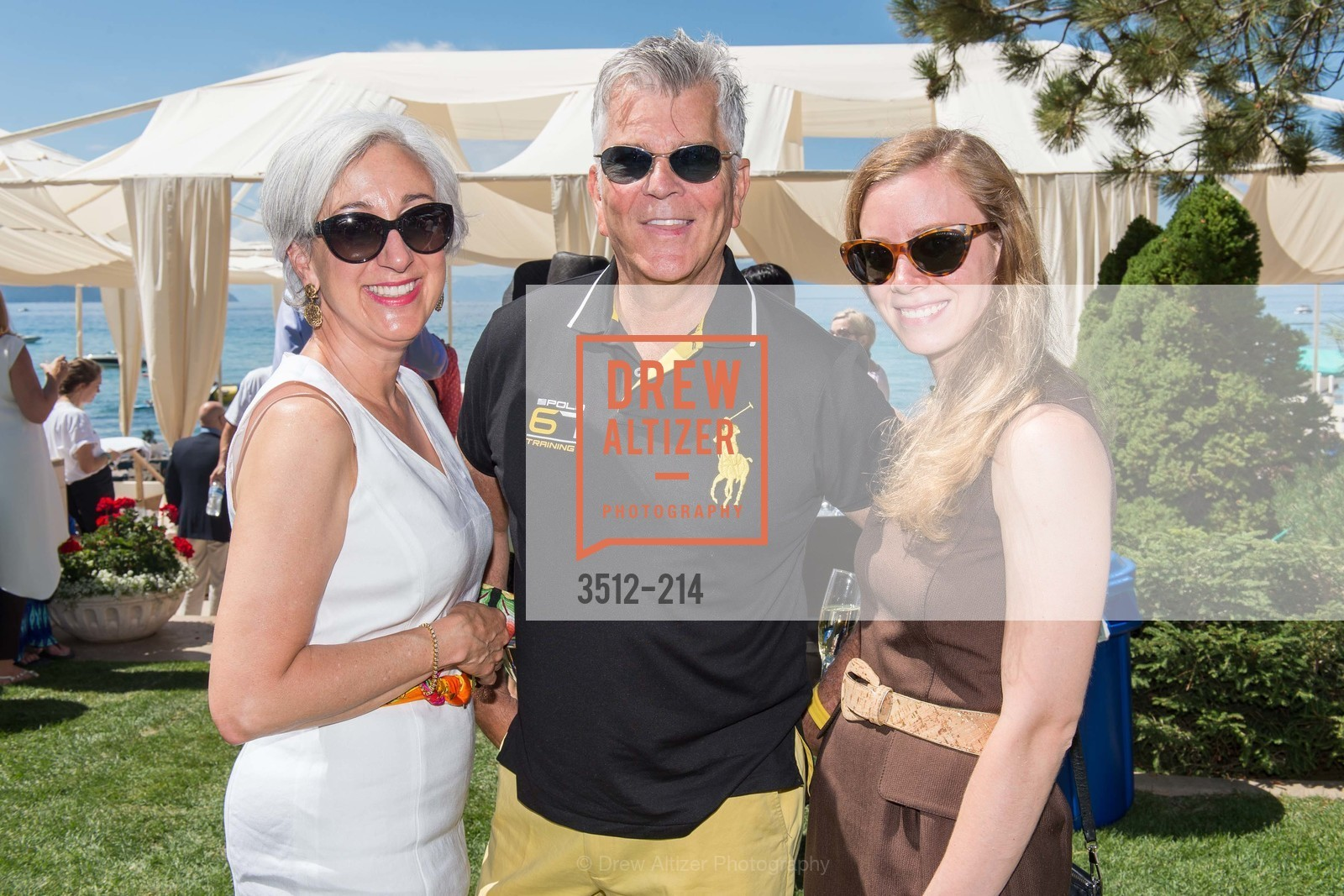 Rina Symczak, Michael Simons, Mary Souza, Saks Fifth Avenue and The League to Save Lake Tahoe Present Fashion on the Lake, Private Residence, August 1st, 2015,Drew Altizer, Drew Altizer Photography, full-service agency, private events, San Francisco photographer, photographer california