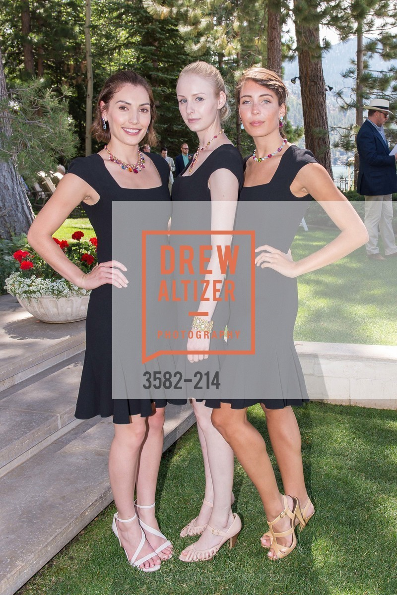 Ellen Hancock, Jocelyn Nelson, Jessie Shortley, Saks Fifth Avenue and The League to Save Lake Tahoe Present Fashion on the Lake, Private Residence, August 1st, 2015