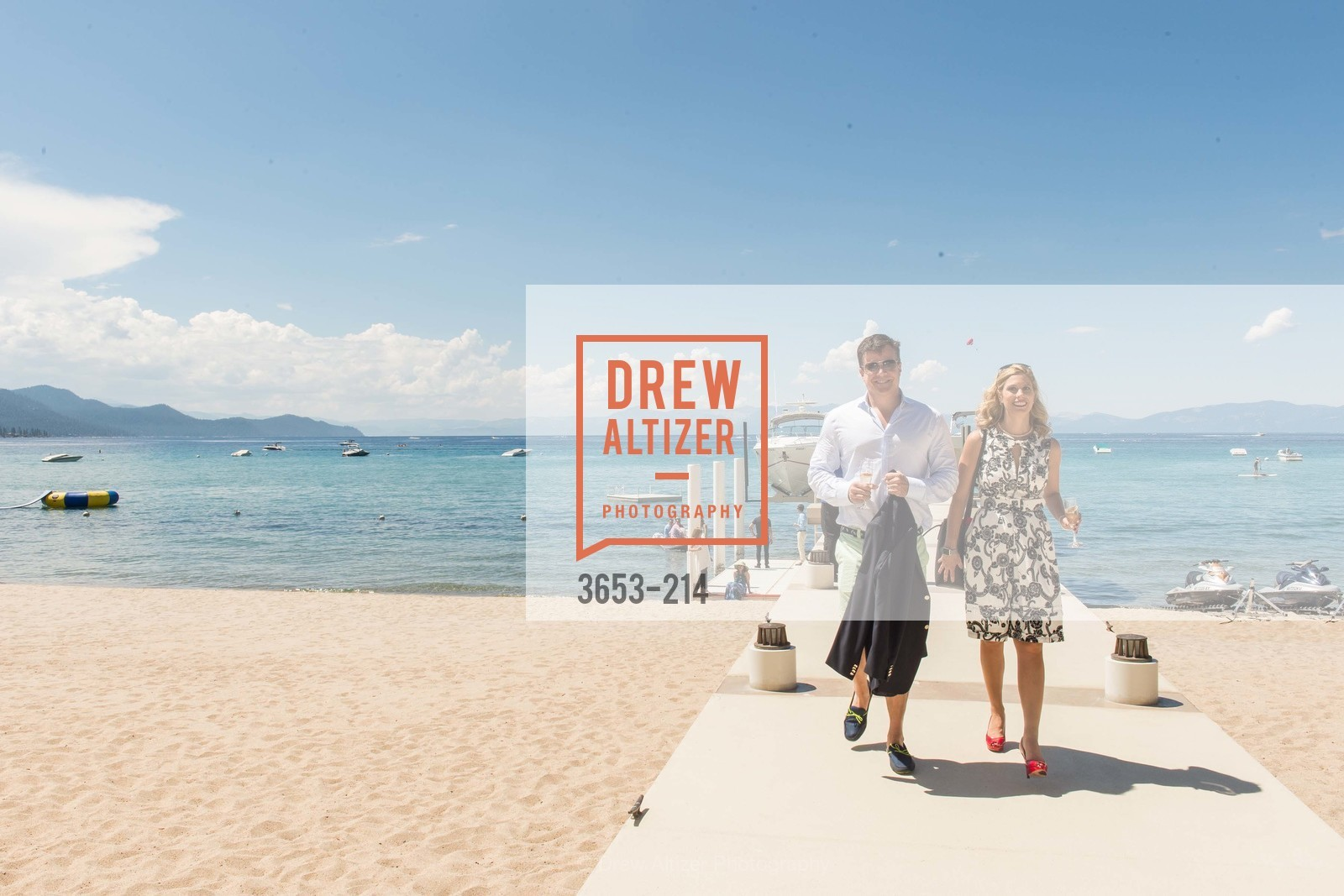 Jack Schafer, Johnna Marcus, Saks Fifth Avenue and The League to Save Lake Tahoe Present Fashion on the Lake, Private Residence, August 1st, 2015,Drew Altizer, Drew Altizer Photography, full-service agency, private events, San Francisco photographer, photographer california