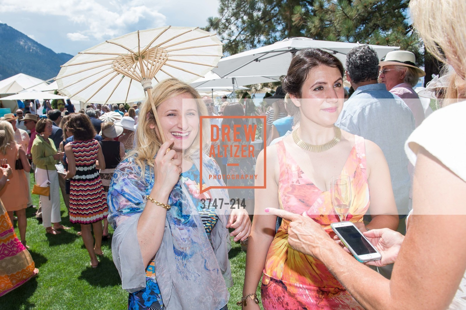 Danielle Podesta, Amanda Podesta, Saks Fifth Avenue and The League to Save Lake Tahoe Present Fashion on the Lake, Private Residence, August 1st, 2015,Drew Altizer, Drew Altizer Photography, full-service agency, private events, San Francisco photographer, photographer california