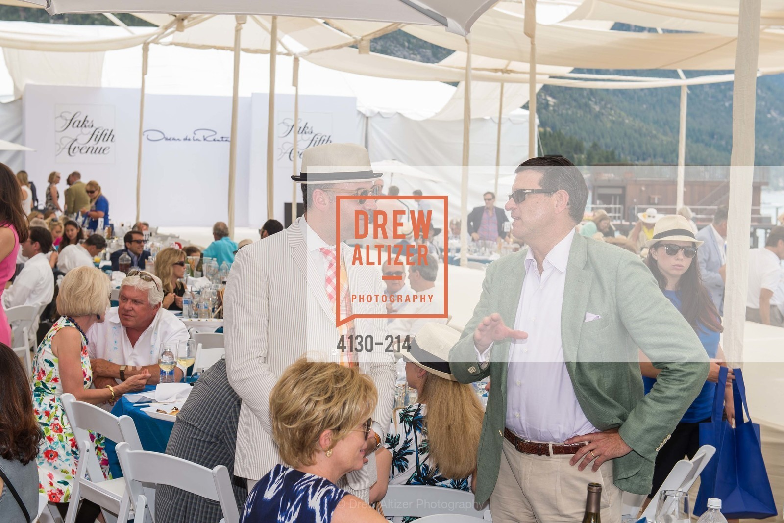 Robert Arnold-Kraft, Edward Poole, Saks Fifth Avenue and The League to Save Lake Tahoe Present Fashion on the Lake, Private Residence, August 1st, 2015,Drew Altizer, Drew Altizer Photography, full-service agency, private events, San Francisco photographer, photographer california