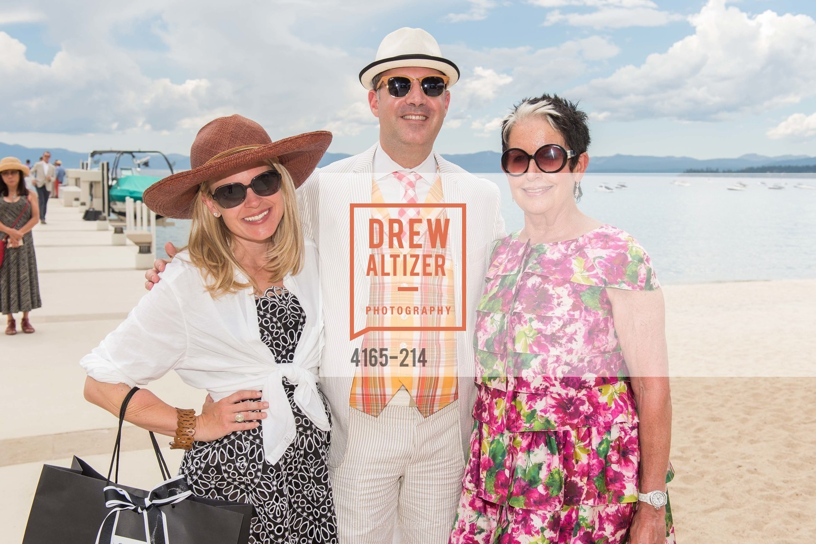 Jane Mudge, Robert Arnold-Kraft, Karen Kubin, Saks Fifth Avenue and The League to Save Lake Tahoe Present Fashion on the Lake, Private Residence, August 1st, 2015,Drew Altizer, Drew Altizer Photography, full-service agency, private events, San Francisco photographer, photographer california