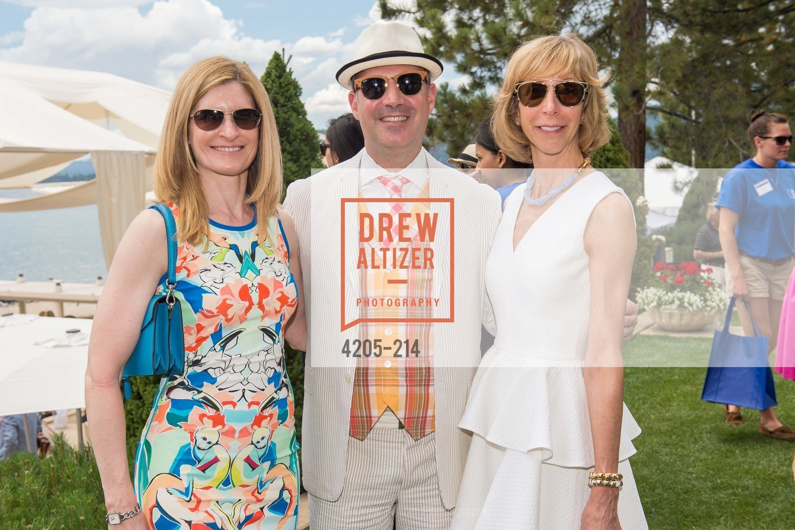 April Isaacson, Robert Arnold-Kraft, Nancy Kukacka, Saks Fifth Avenue and The League to Save Lake Tahoe Present Fashion on the Lake, Private Residence, August 1st, 2015,Drew Altizer, Drew Altizer Photography, full-service agency, private events, San Francisco photographer, photographer california