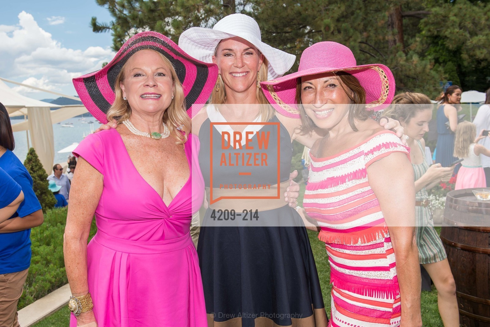 Claire Kostic, Deborah Keane, Cathy Goodman, Saks Fifth Avenue and The League to Save Lake Tahoe Present Fashion on the Lake, Private Residence, August 1st, 2015,Drew Altizer, Drew Altizer Photography, full-service agency, private events, San Francisco photographer, photographer california