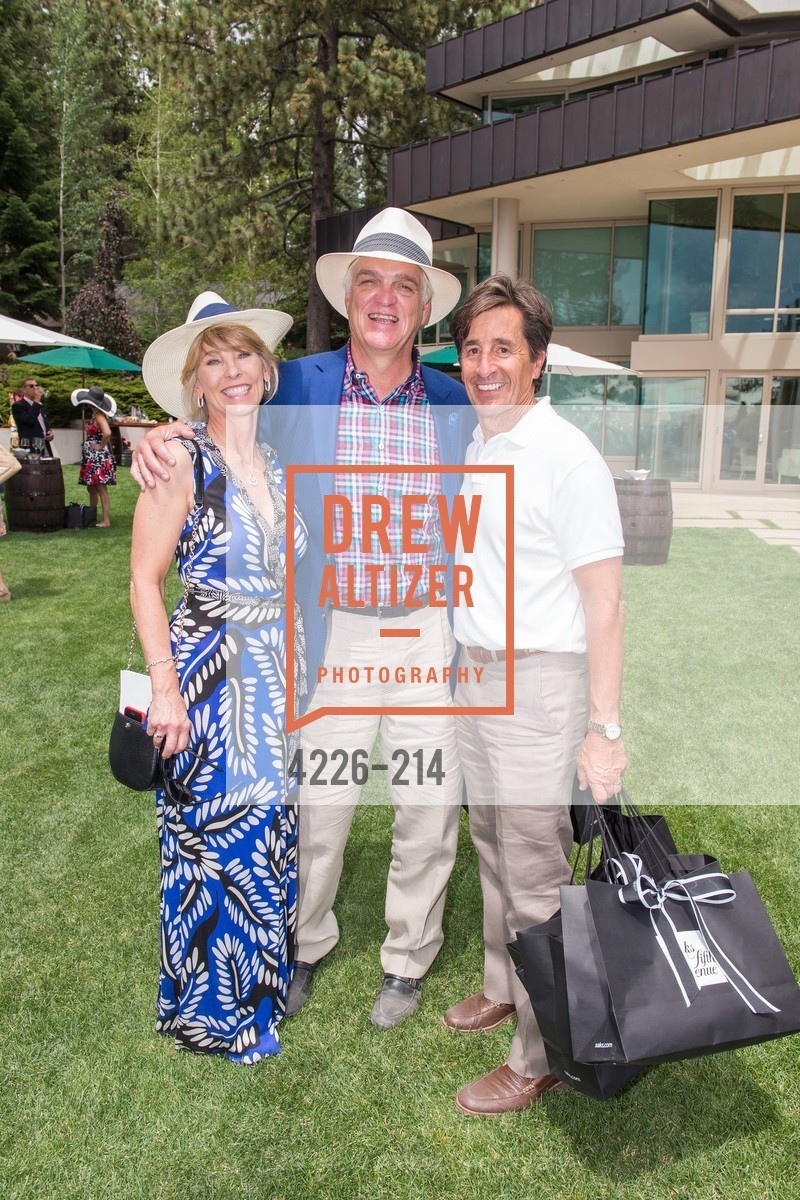 Linda Stubblefield, Rick Stubblefield, Bob Damaschini, Saks Fifth Avenue and The League to Save Lake Tahoe Present Fashion on the Lake, Private Residence, August 1st, 2015