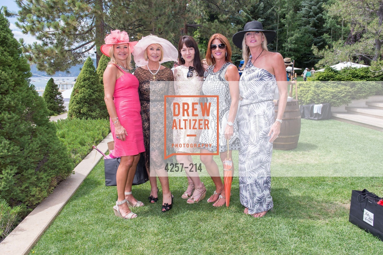 Cindy Brody, Annette Van Dyck, Victoria Peters, Kimberly Thesman, Doreen Dice, Saks Fifth Avenue and The League to Save Lake Tahoe Present Fashion on the Lake, Private Residence, August 1st, 2015,Drew Altizer, Drew Altizer Photography, full-service agency, private events, San Francisco photographer, photographer california