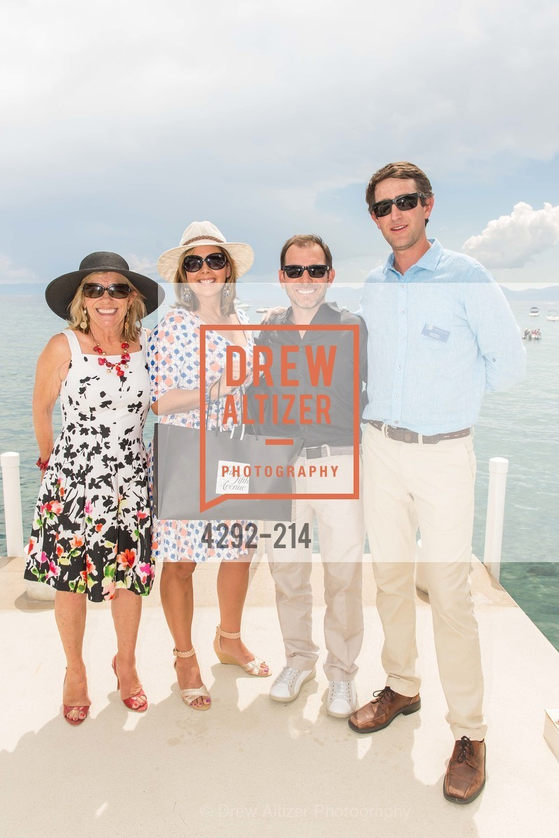 Judy Magnuson, Denise Magnuson, Garth Magnuson, Jesse Patterson, Saks Fifth Avenue and The League to Save Lake Tahoe Present Fashion on the Lake, Private Residence, August 1st, 2015,Drew Altizer, Drew Altizer Photography, full-service event agency, private events, San Francisco photographer, photographer California