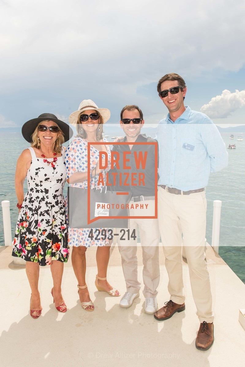 Judy Magnuson, Denise Magnuson, Garth Magnuson, Jesse Patterson, Saks Fifth Avenue and The League to Save Lake Tahoe Present Fashion on the Lake, Private Residence, August 1st, 2015,Drew Altizer, Drew Altizer Photography, full-service agency, private events, San Francisco photographer, photographer california